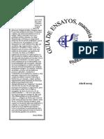 Elaboración de Ensayos (EPSI - UBA)
