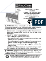 Ventless Propane Heater Manual