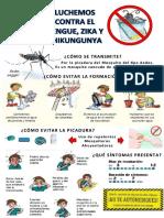 prevencion del Dengue escuela Liwen