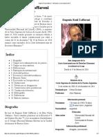 Eugenio Raúl Zaffaroni - Wikipedia, La Enciclopedia Libre