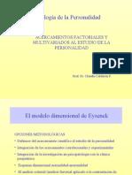 Modelo Factorial- Eysenck
