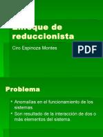 1.Enfoque Reduccionista 1