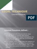 Criminal Procedure EDT LEGAL TECHNIQUE.pptx