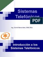 Sistemas Telefónicos