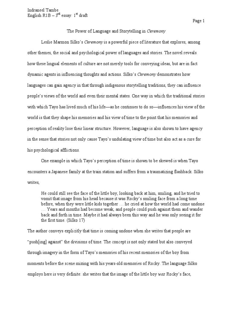 storytelling essay