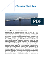 Making of Bandra Bridge