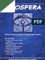 INFOSFERA Revista de Studii de Securitate Si Informatii Pentru Aparare, Nr. 1, 2009