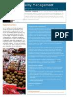Wageningen - MSc Food Quality Management