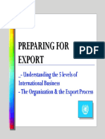 2 - Preparing for Export