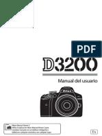 Manual de Nikon 3200