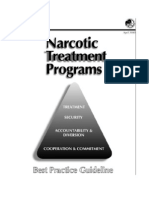 DOJ Narcotic Treatment Programs