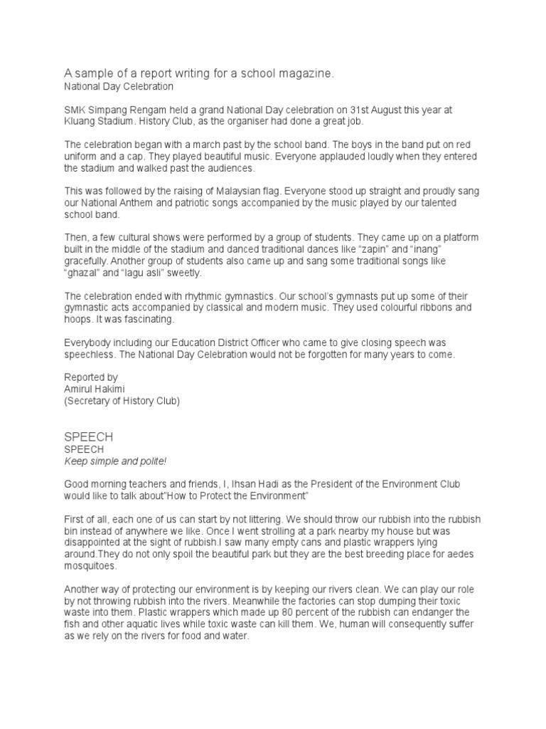 spm essay newspaper report Background of english essay newspaper report importance of  research paper videos example effect essay descriptive spm creative ideas for writing xaviers.