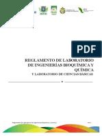 Reglamento de Laboratorio 2014 Nuevo