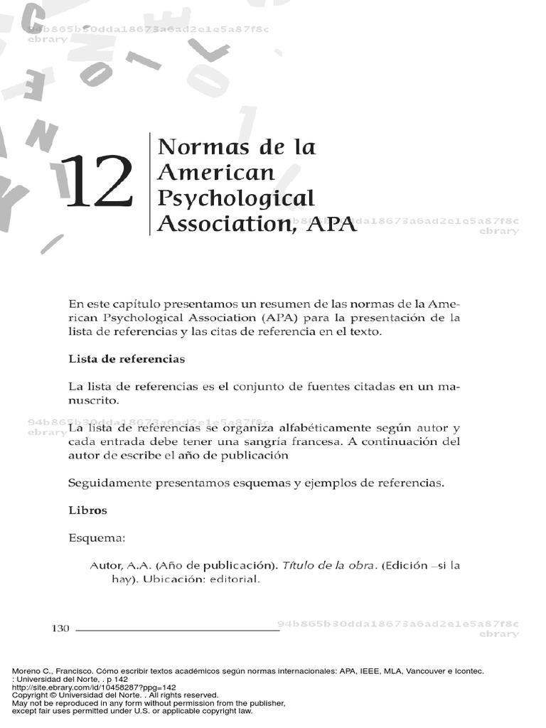 Vistoso Escribir Lista De Referencia Resumir Adorno - Ejemplo De ...