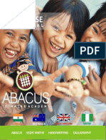 Abacus Vedic Franchise Proposal