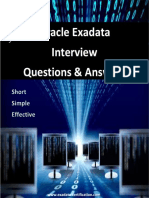 Oracle Exadata Interview Questions and Answers PDF Free Download