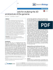 Ay F 15 Methods for Studying the 3D Architecture of the Genome