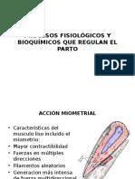 Procesos Fisiologicos y Bioquimicos Que Regulan El Parto.