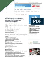 Enfermedades Catastróficas, Raras o Huérfanas, Según Ministerio de Salud - Gran Guayaquil - Noticias _ El Universo