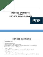 Metode Sampling Dan Analisis Data