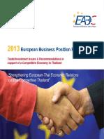 European Business Position Paper