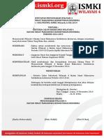 8 Tata Tertib Pemilihan Sekretaris Wilayah 4 ISMKI Periode 2014-2015
