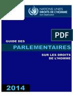 Guide des parlementaires sur les droits de l'homme