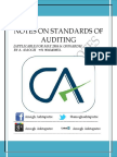 Download Standards of Auditing Notes