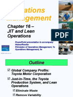 Operations Management Chapter 16