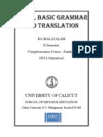 Sanskrit Prose, Basic Grammar and Translation_sde_8june2015