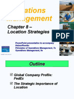 Operations Management Chapter 8
