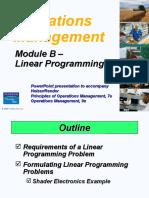 Operations Management Module B