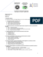 2013 Biologie Nationala Clasa a X a Proba Teoretica Subiecte Si Bareme