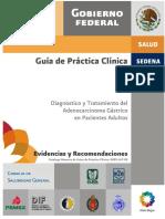 Adenocarcinoma Gastrico en pacientes adultos