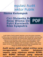 Regulasi Audit Sektor Publik