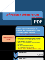 3rd Pakistan Urban Forum Declaration