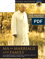 Maryvale MA Marriage & Family A5 Leaflet