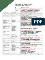 rgcc calendar of activities 2015-16