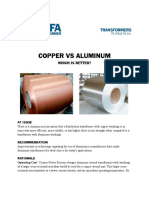 Copper vs Aluminum Cps