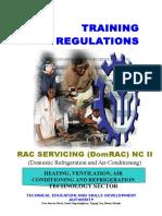 Tr-rac Servicing (Domrac) Nc II
