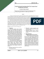 Penelitian Kualitas Bata Dan Pengaruh Jenis Bahan Bakar Serta Campuran Pasir Terhadap Kuat Tekan Bata