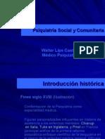Psiquiatría Social y Comunitaria
