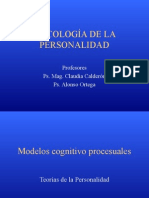 teorias cognitivo procesuales