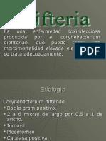 Difteria Cristian