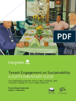 Tenant Engagement on Sustainability