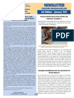 OHCHR Madagascar Newsletter 3rd Edition - January 2015