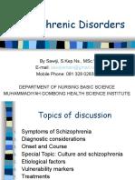 Schizophrenic Disorder PPT OK