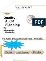 3- Quality Audit Planning - Ibm (1)