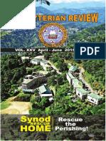 Presbyterian Review - April_June, 2015
