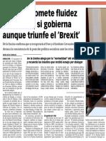 160309 La Verdad CG- El PSOE Promete Fluidez en La Verja Si Gobierna Aunque Triunfe El 'Brexit' p.8